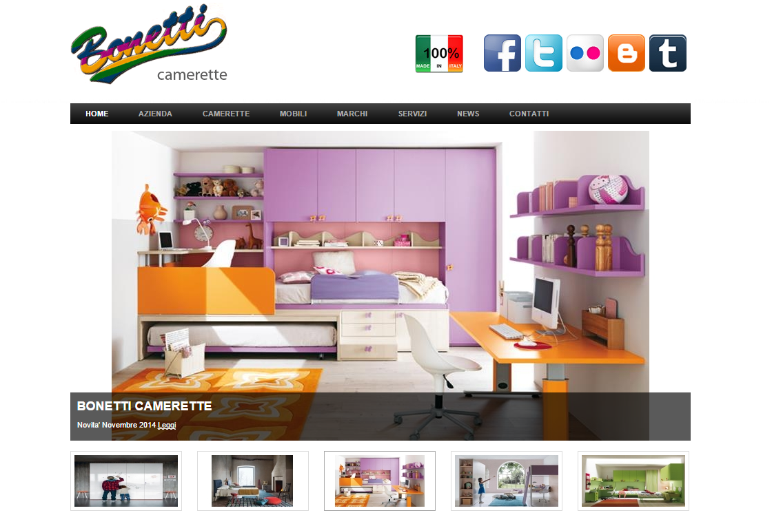 Arredamento camerette per bambini Milano Monza Brianza